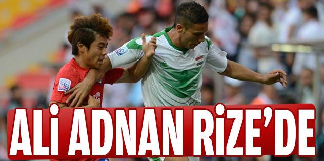 Ali Adnan Rize'de