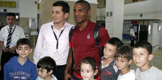 Trabzonspor Belarus'a gitti