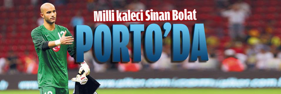 Sinan Bolat'tan Porto'ya 5 yıllık imza