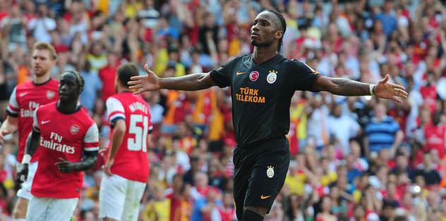 Drogba Arsenal'i yıktı