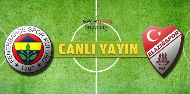 Fenerbahçe-Elazığspor