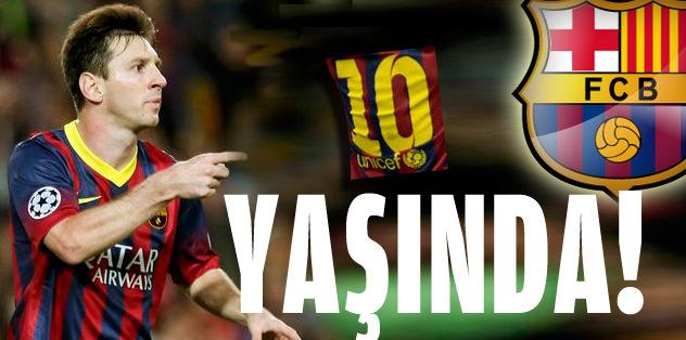 Messi ile 10 yıl
