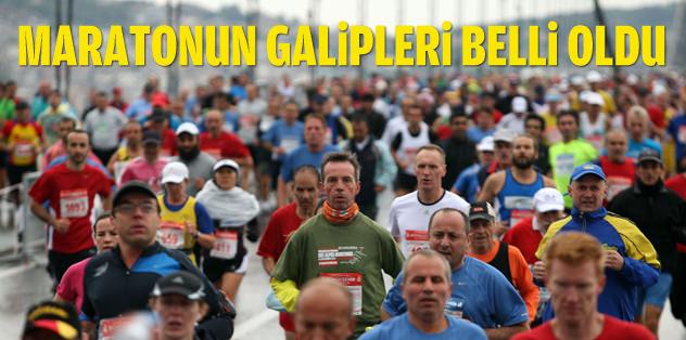 35. Vodafone İstanbul Maratonu sona erdi
