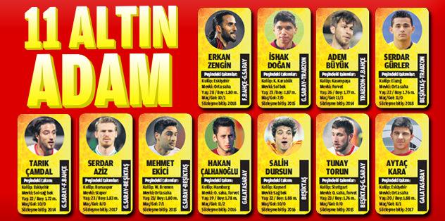 11 altın adam