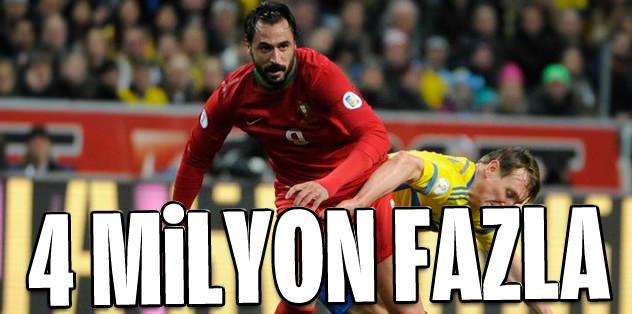 4 milyon euro Hugo'ya fazla