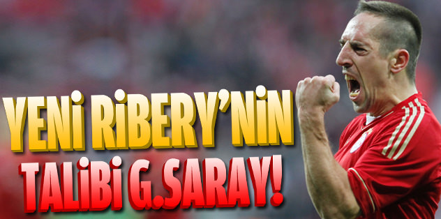 Yeni Ribery'nin peşinde