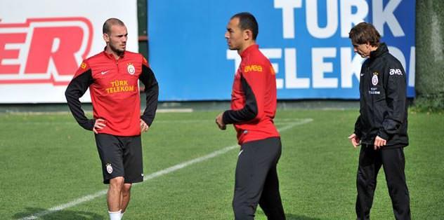 Semih ve Sneijder müjdesi