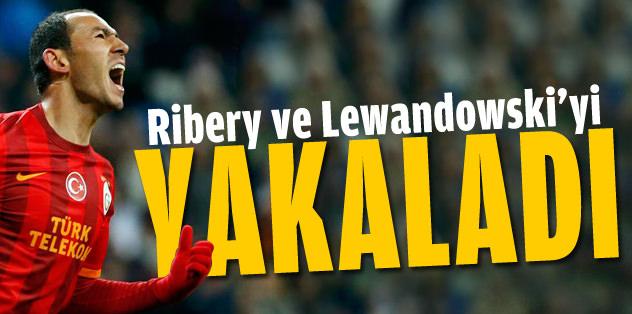 Umut Bulut, Ribery ve Lewandowski'yi yakaladı