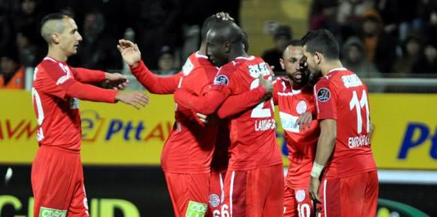 Antalyaspor patladı