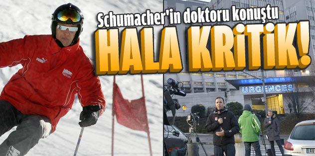 'Schumacher'in bilinci kapalı, hiçbir şeye cevap veremiyor'