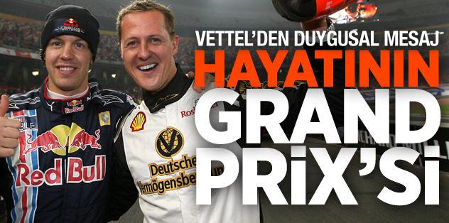 'Bu senin hayatının Grand Prix'si'