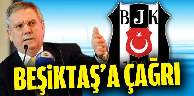 Aziz Yıldırım'dan Beşiktaş'a çağrı