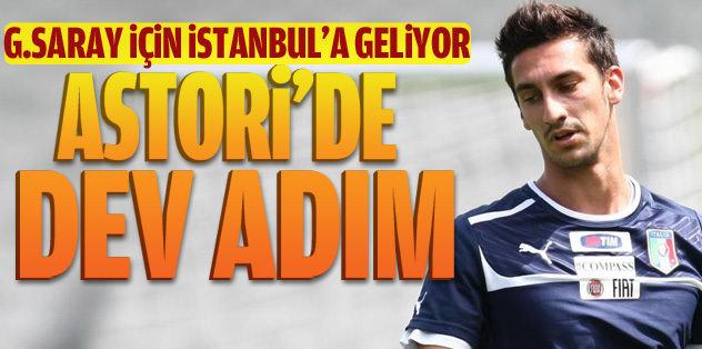 Astori için İstanbul'a geliyor