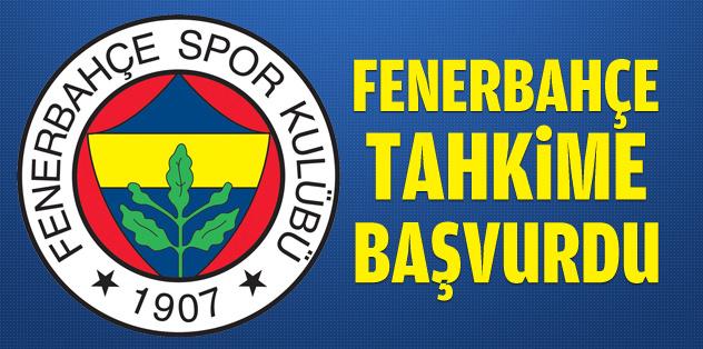 Fenerbahçe, Tahkim'e başvurdu