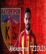 Alexandros Tziolis Kayseri'de
