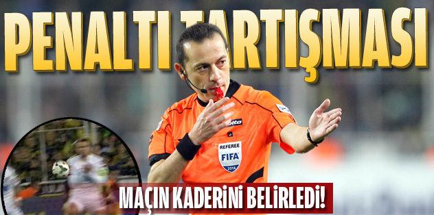Kadıköy'de tartışmalı penaltılar