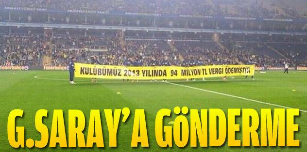 Galatasaray'a vergili gönderme