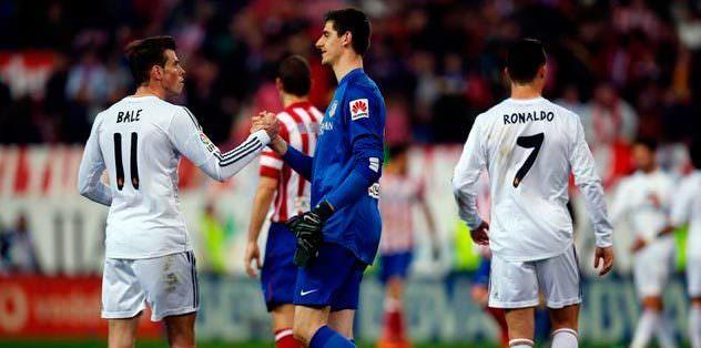 Madrid derbisi berabere