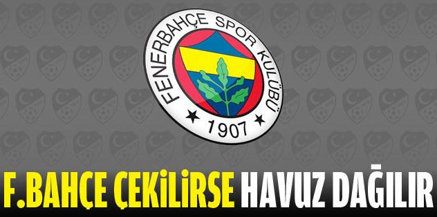 'Fenerbahçe'siz havuz dağılır