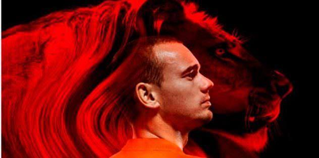 Hollanda aslanı Sneijder!