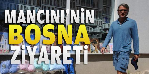 Mancini'nin Bosna ziyareti