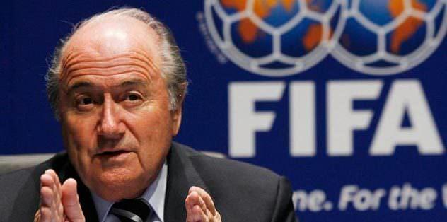 Blatter'den güvence