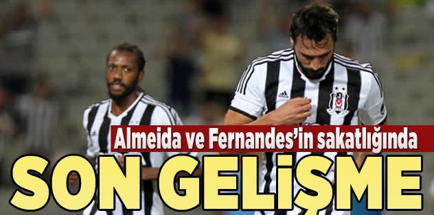 Almeida ve Fernandes'te son gelişme