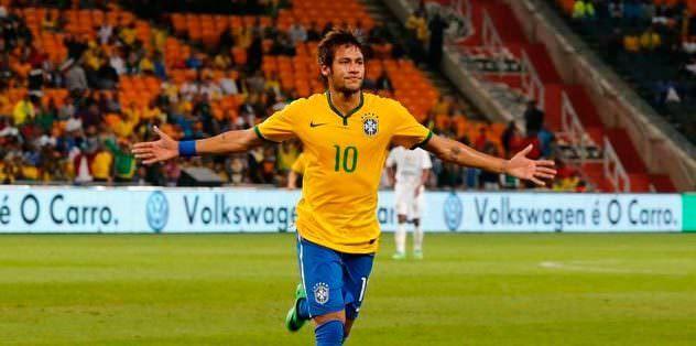 Brezilya Neymar'la coştu