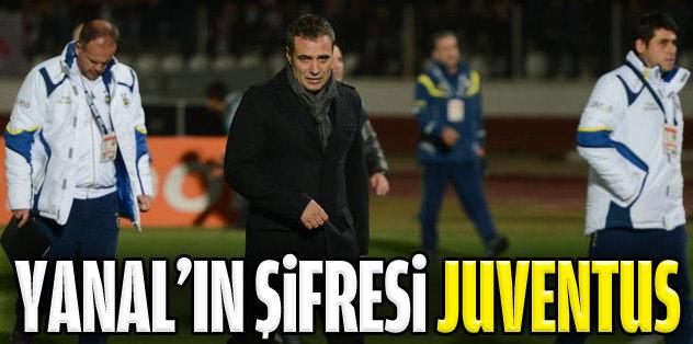 Ersun Yanal'ın şifresi Akhisar ve Juventus