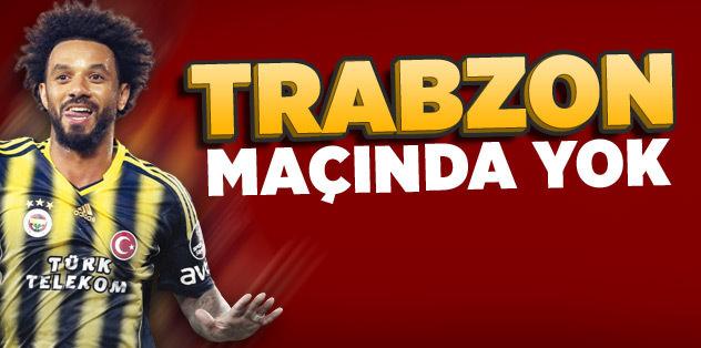 Baroni Trabzonspor maçında yok!