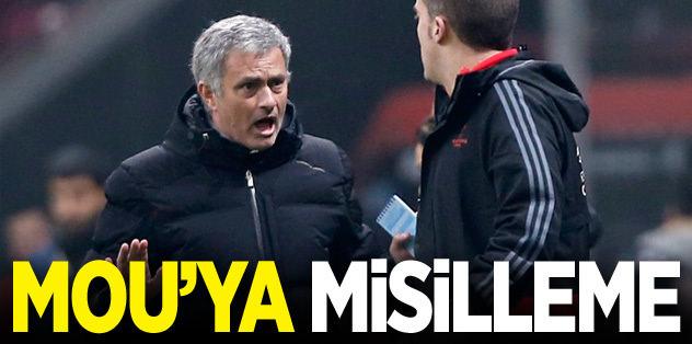 Mourinho'ya misilleme