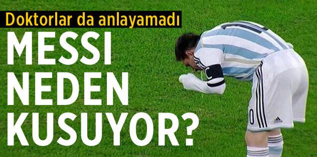 Messi'nin rahatsızlığı ne?