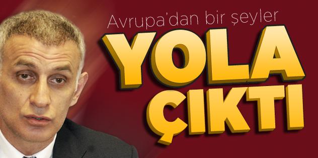 Hacıosmanoğlu: Avrupa'dan bir şeyler yola çıktı!