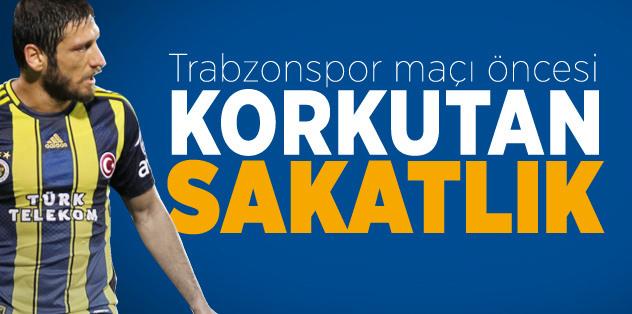 Trabzonspor maçı öncesi korkutan sakatlık!