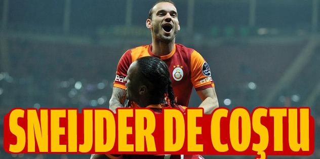 Sneijder'den 1 gol 2 asist