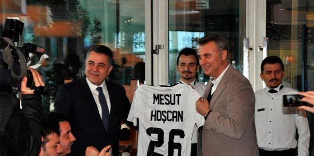 Hoşcan'a Beşiktaş forması