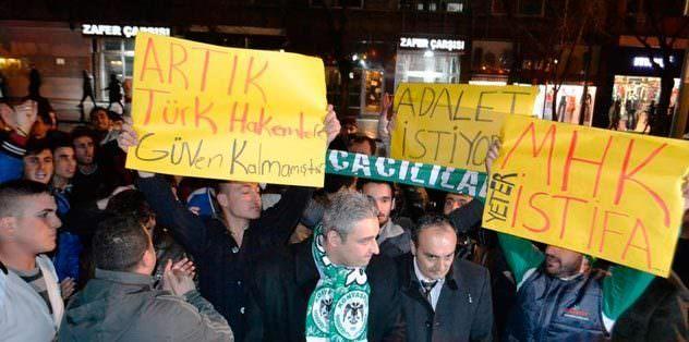 "Konya'dan TFF'ye: ""Yeter"""