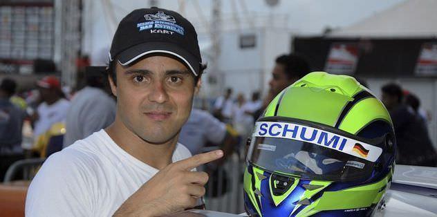 Massa, Schumacher'den umutlu
