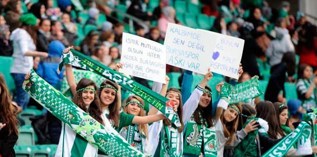 Bursa'ya bir maç daha