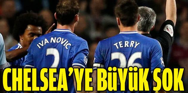 Chelsea'ye şok