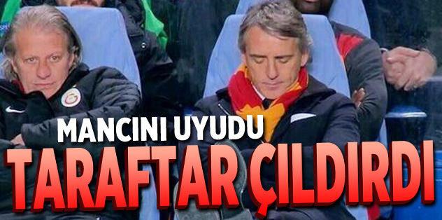 Mancini taraftarı çıldırttı