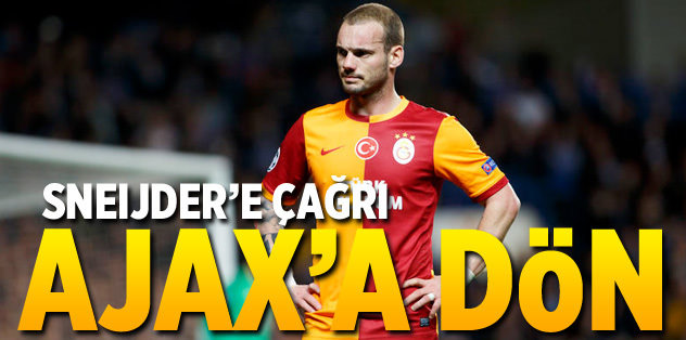 'Ajax'a dön' çağrısı
