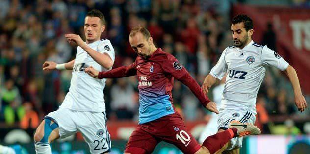 Yedek kulübesi Trabzonlu