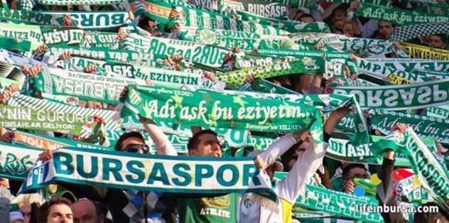 Bursaspor'dan taraftara kötü tezahürat uyarısı