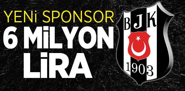 Beşiktaş'a yeni sponspor