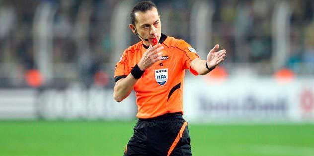 Bursaspor maçı Cüney Çakır'ın