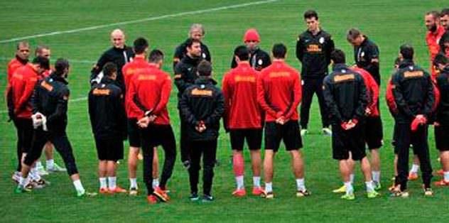 Galatasaray'a dinlenmek yok