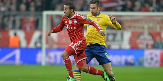 Bayern'de Thiago şoku