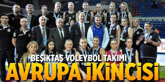 Beşiktaş Avrupa ikincisi