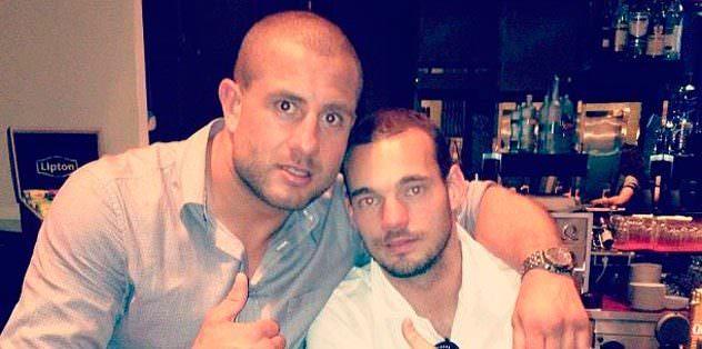 Sneijder iyice dibe vurmuştu